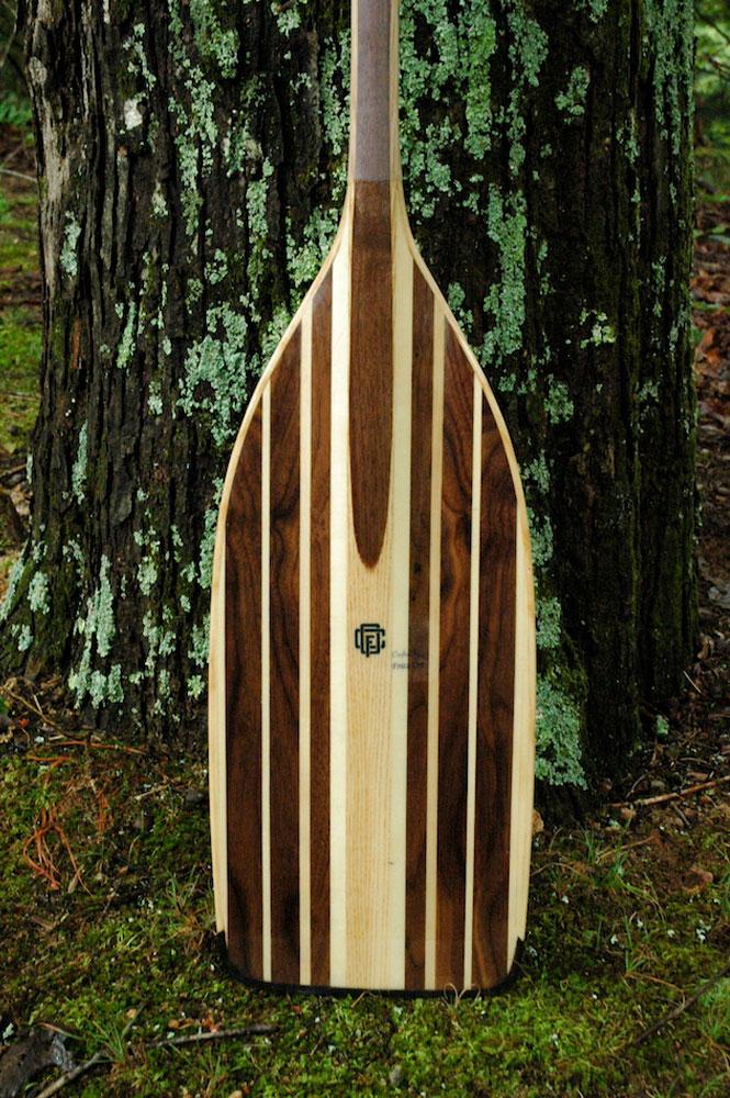custom made canoe paddle